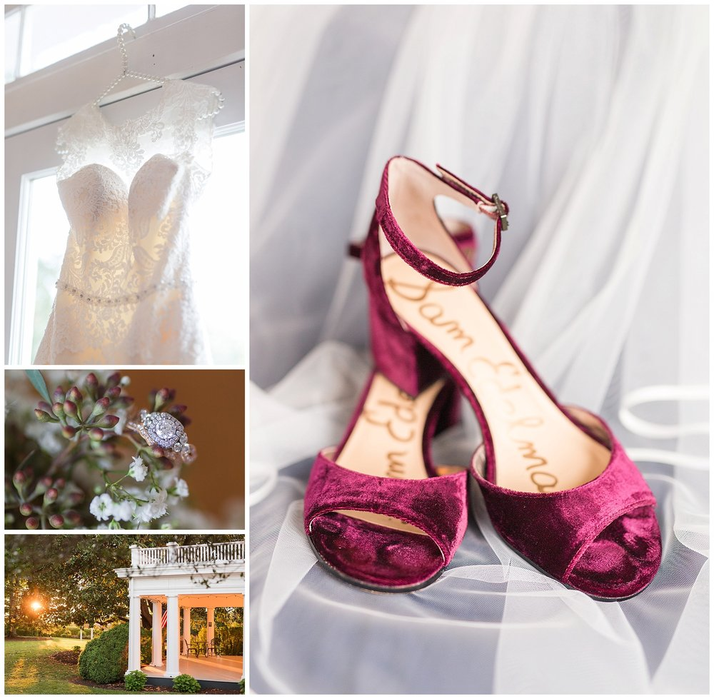 Lynchburg, Virginia Wedding Photographer || Wedding and Bridal Details || Ashley Eiban Photography || www.ashleyeiban.com