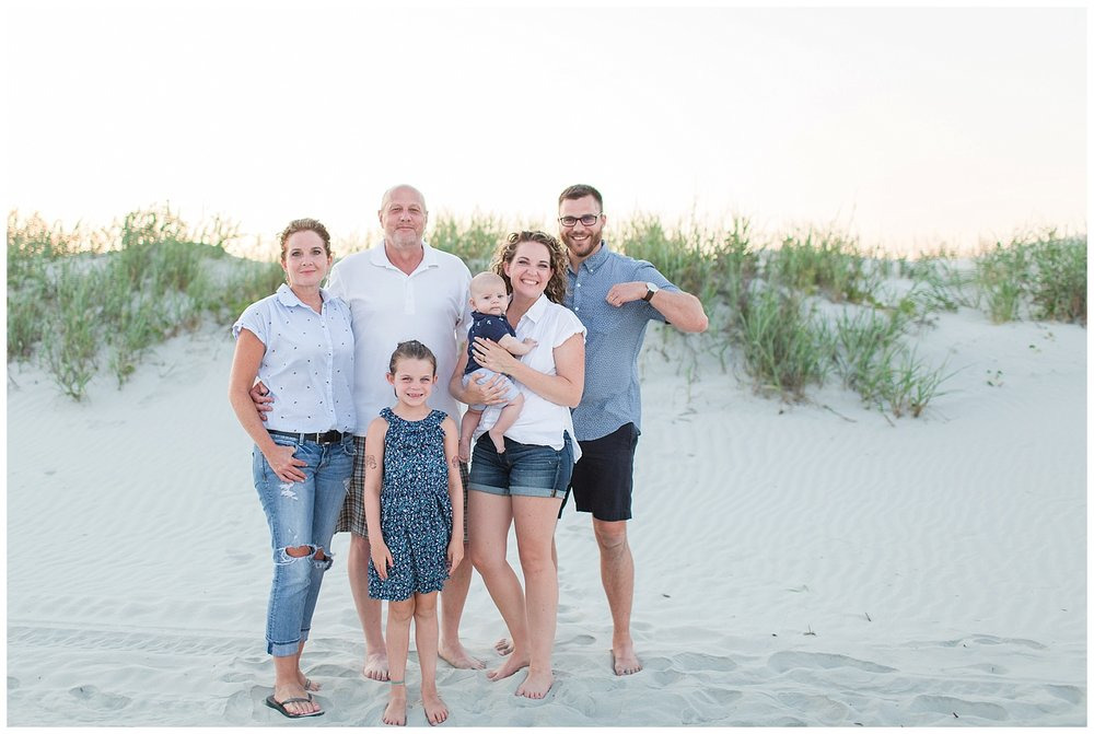 Family Photos at Sunset Beach, North Carolina || Lynchburg, Virginia Wedding and Family Photographer