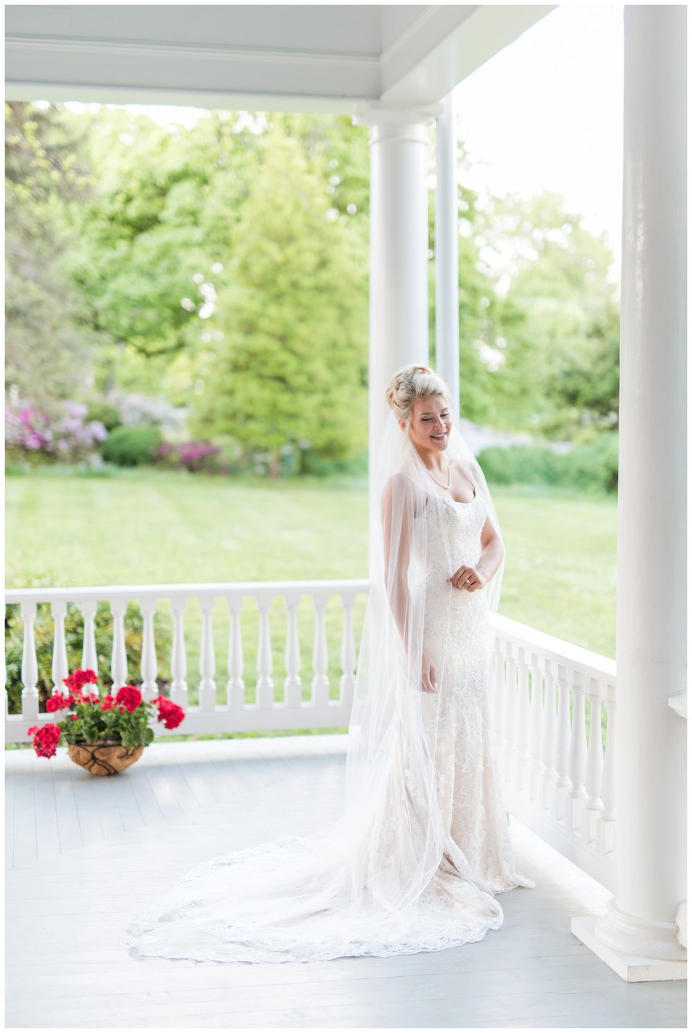 Bridal Portraits at the Historic Avenel in Bedford, Virginia || Lynchburg Wedding Photographer