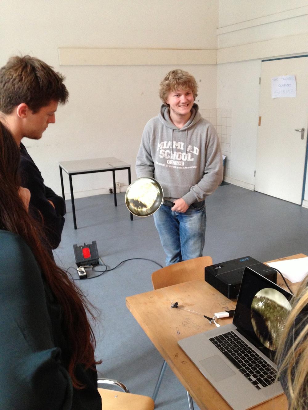 Students: CW:  Christian Thomsen   AD : Kostia Liakhov, Carine Howayek