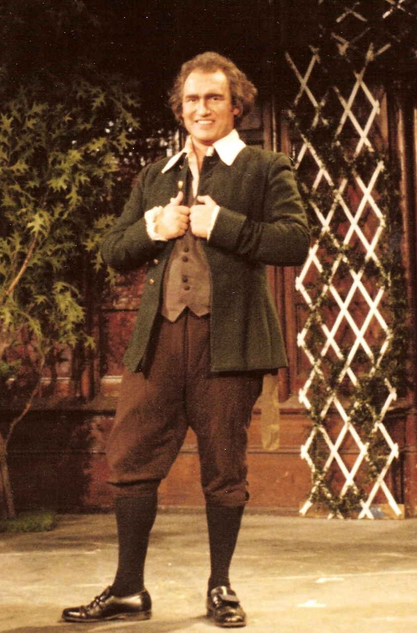 Bob as Filippo in F. J. Haydn's DECEIT OUTWITTED