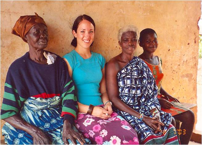 Over 26 months of fieldwork in Ghana, West Africa