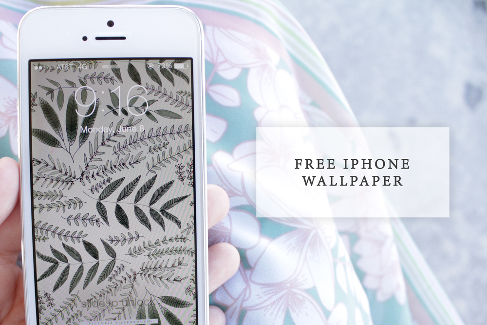 Free iPhone Wallpaper Download Here :)