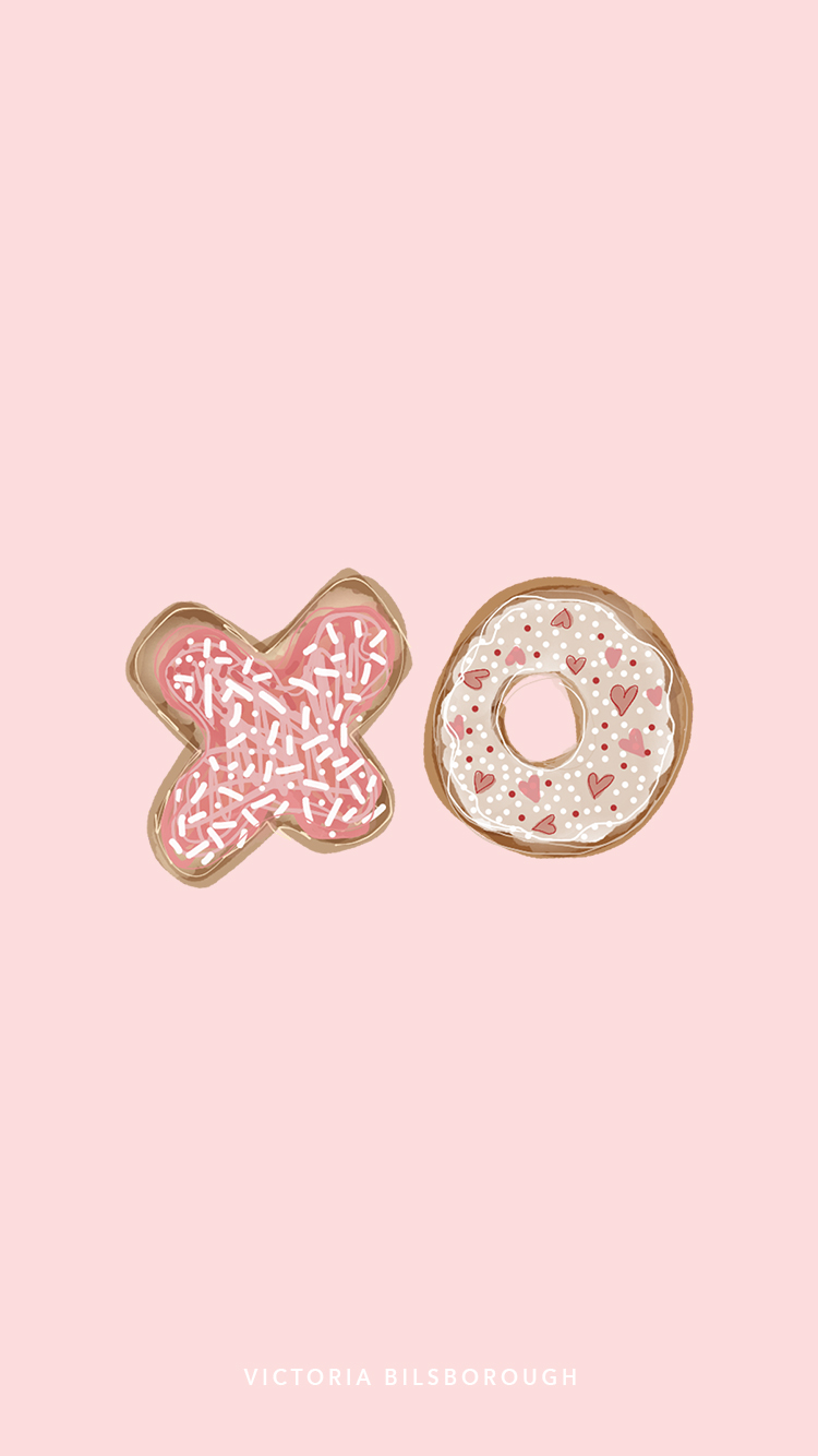 xo, donut - by Victoria Bilsborough