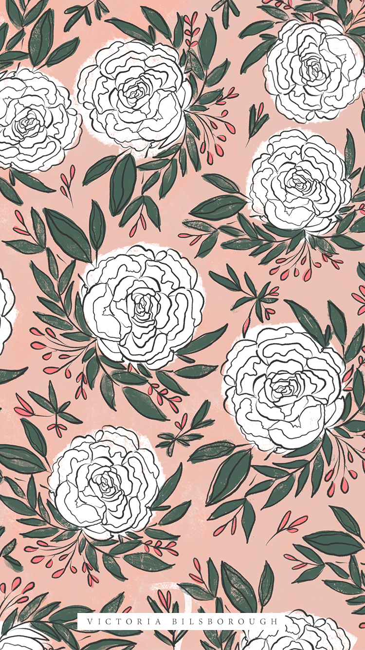 Floral-Wallpaper-Free-VictoriaBilsborough