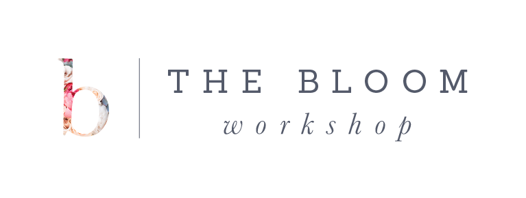 The Bloom Workshop | Product Featured at Bloom Bash & Article Feature on Website.