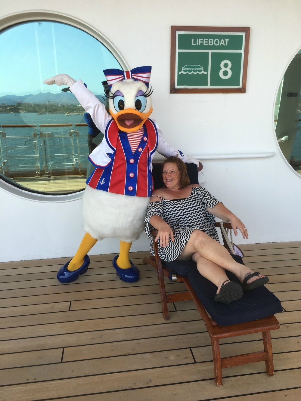 Me and Daisy Duck