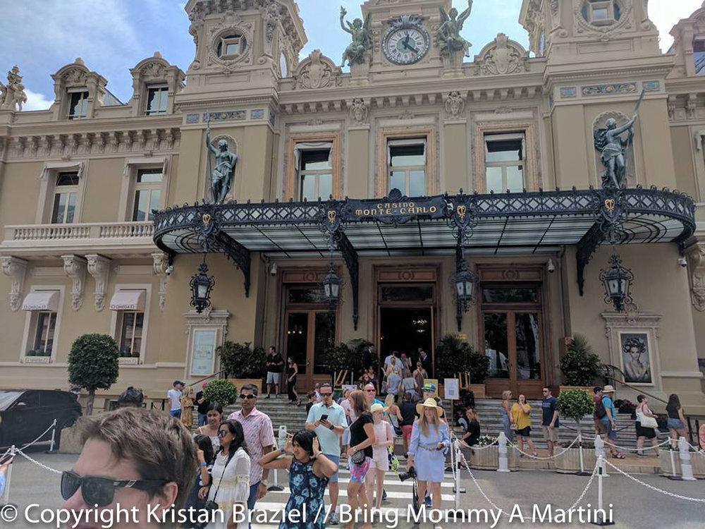 The famous Casino Monte Carlo