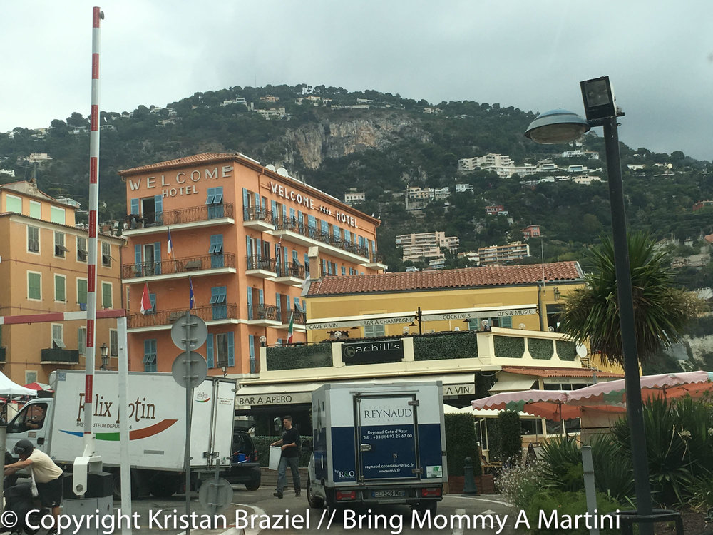 The village of Villefranche