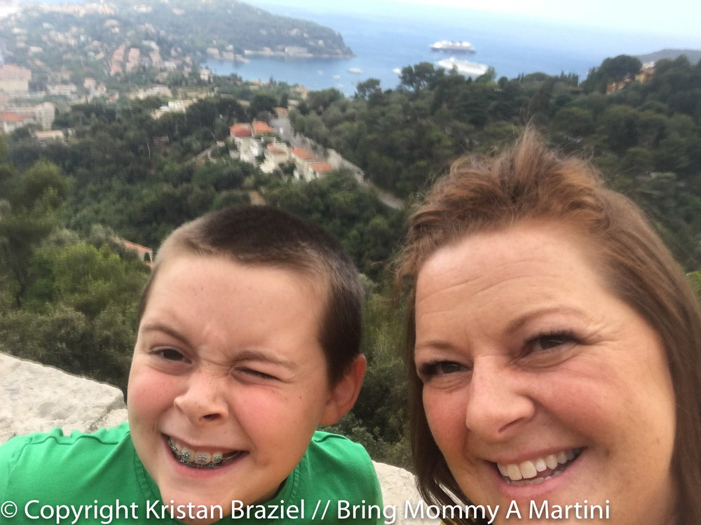 With the Côte d'Azur behind us