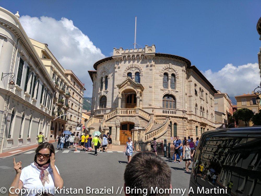 Cathedral where Prince & Princess Rainier are buried