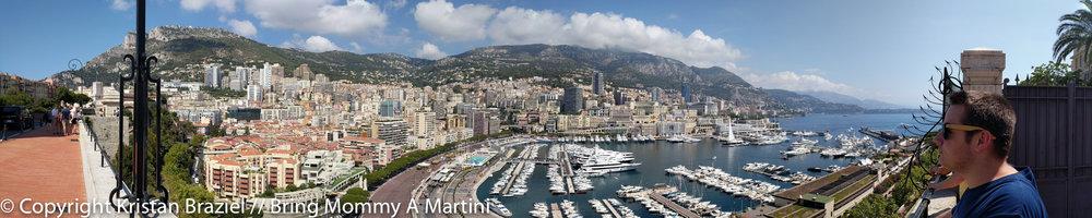 Panoramic of Monaco & Monte Carlo