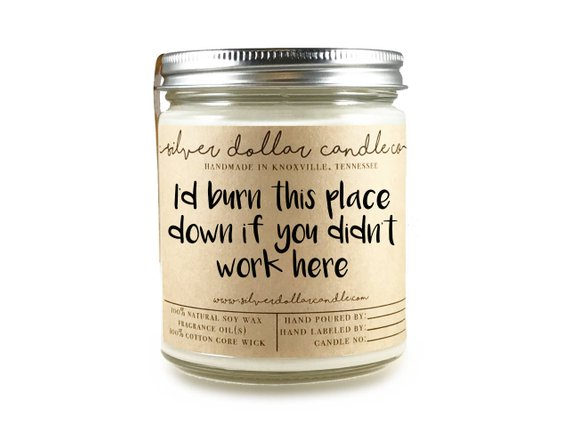 gift-guide-coworker-ideas-funny-candle-personalized