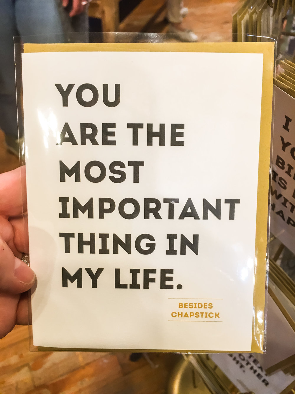 South River Street  makes these hilarious cards that I can totally relate to
