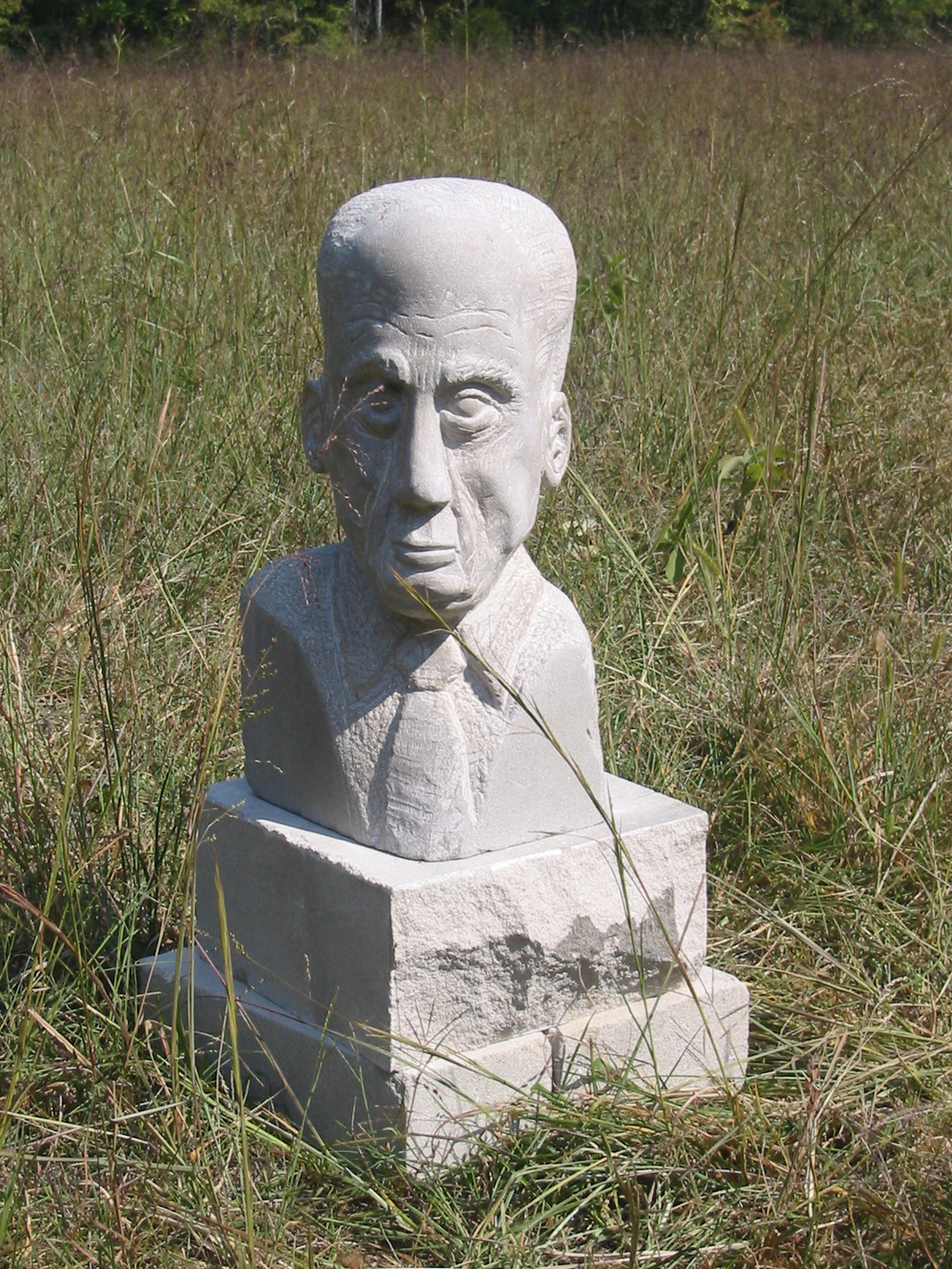 Edward R. Morrow  , limestone, 24 inches