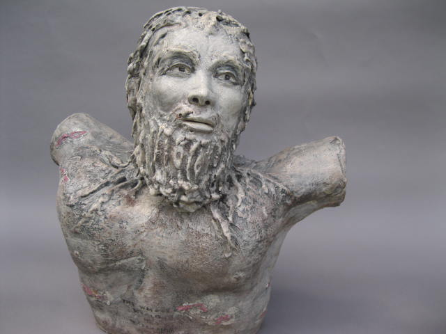 Angel 1  , stoneware, 22 inches
