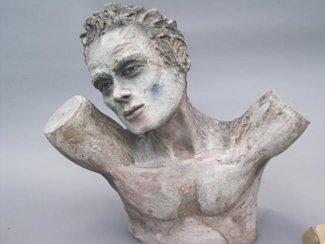 Angel 2  , stoneware, 22 inches