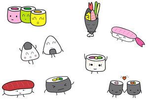 14 mai 2016 . Atelier Privé Spécial Sushis KawaiUn atelier pour l'anniversaire d'une jeune fille de 11 ans férue de sushis. Pour cette occasion, Lou et Leon a créé de nouveaux sushis spécial kawai qui ont été réalisés par les invitées. Chaque invité est reparti avec son propre sushi adapté de manière à pouvoir être accroché au zip de leur sac d'école ou à leur porte-clefs! -