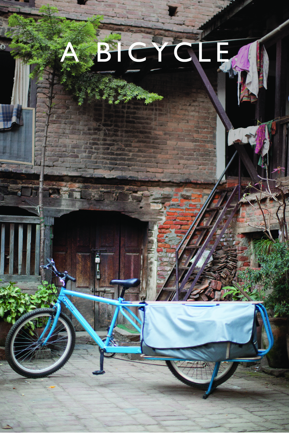For $250, you can put a Portal Cargo Bike in the hands of an entrepreneur in Nepal.