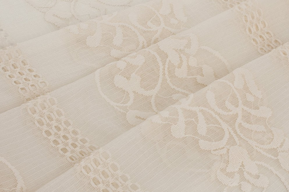 Ivory French Ribbon Lace