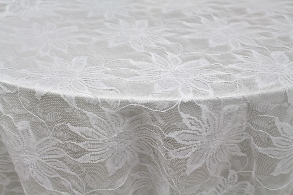 White Doris Lace