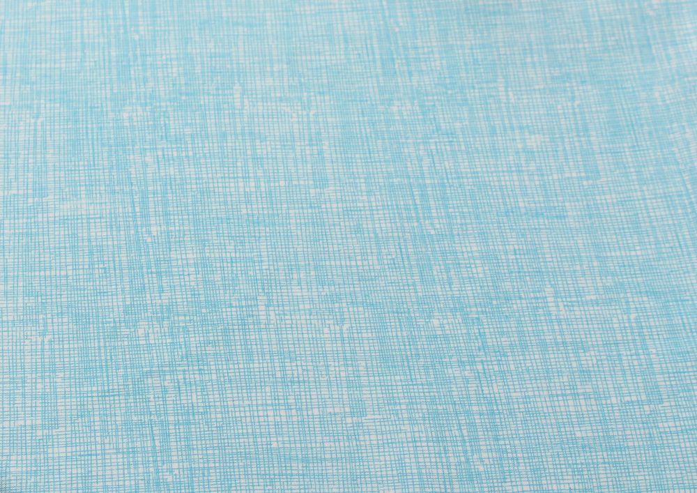 Light Blue Scribble Print