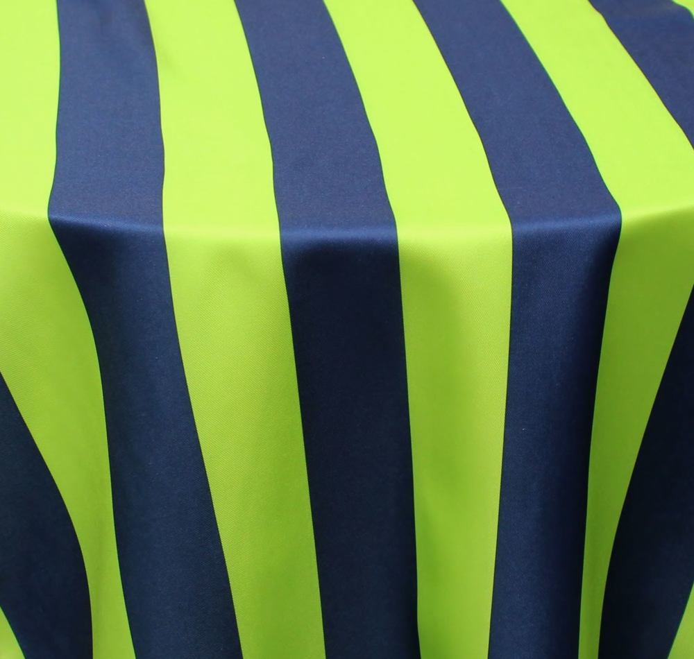 Navy/Lime Ashley Stripe