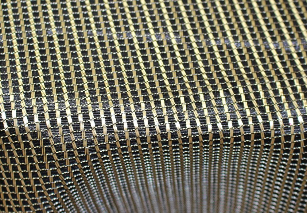 Gold Metallic Net