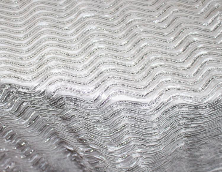 Modern Wave White/ Silver