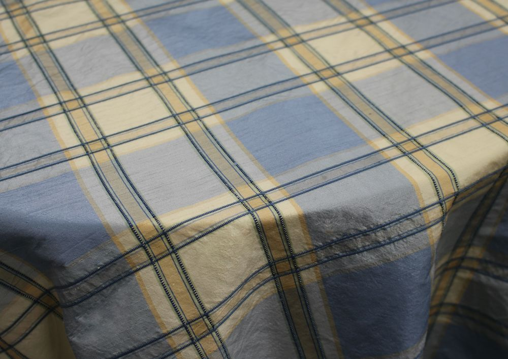 Blue and Yellow Vavol Plaid