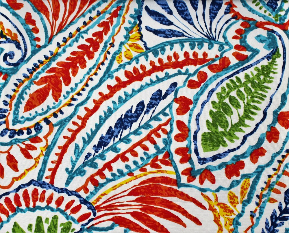 Multi Color Chiffon Leaf