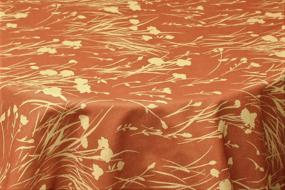 Pattern: Whispering Willows Color: Copper/Gold Content: 65% Cotton/35% Poly