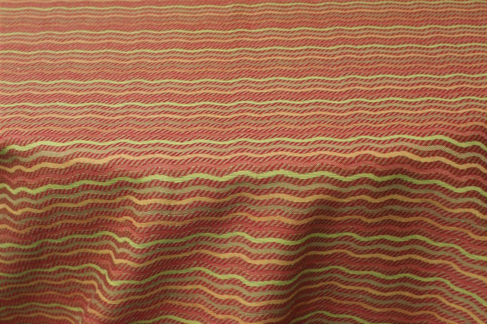 Pattern: Fall Fun Color: Multi - (Red Side) Terracotta/Yellow/Green Content: 50% Cotton/ 50% Polyester