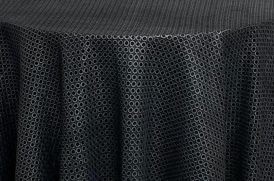 Black & Silver Circles