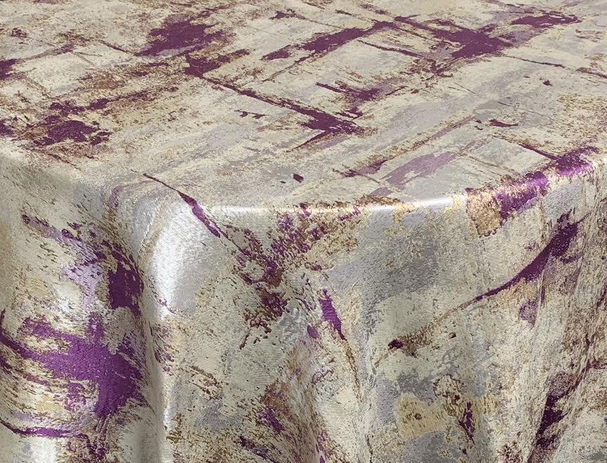 Silver/ Purple/ Gold Birch Tree