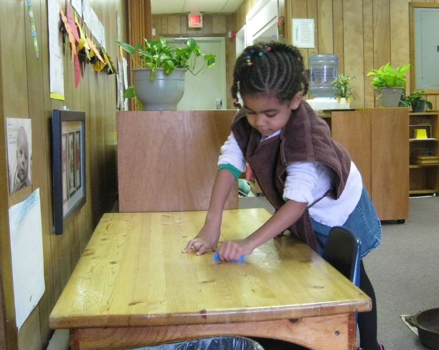 """An adult works to perfect the environment. A child works to perfect himself.""     -- Dr. Maria Montessori (1870-1952)"
