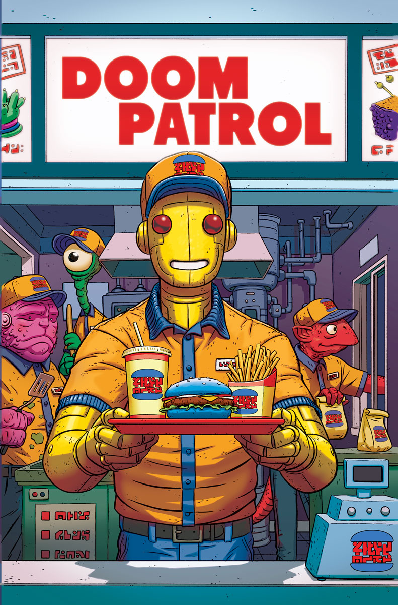 Doom Patrol - Issue 4