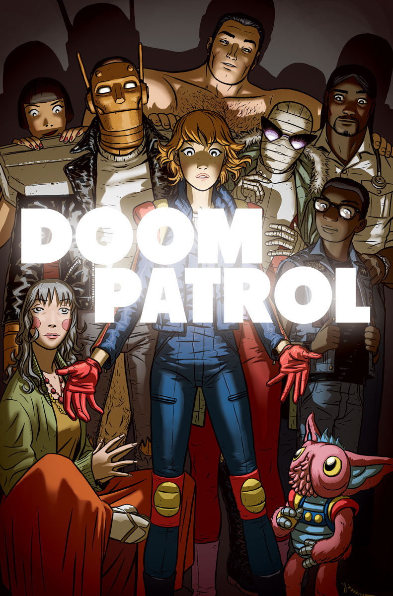Doom Patrol Issue 6