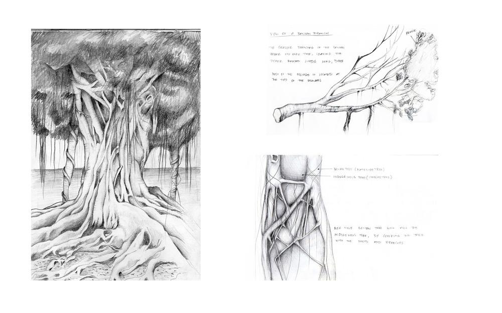Sketchbook drawings by Artur Nesterenko