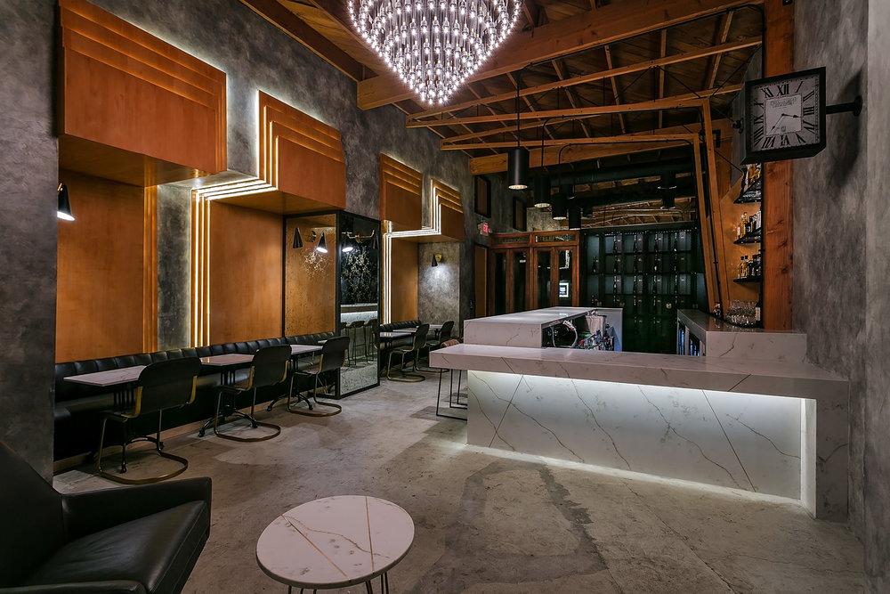 Melrose Station Bar and Restaurant design by Archillusion Design