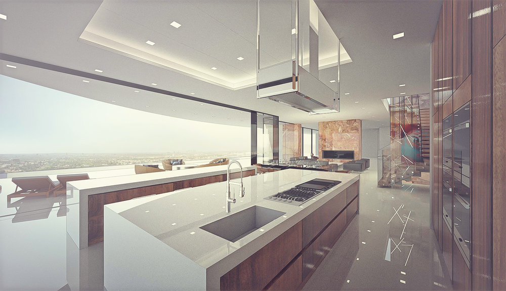 contemporary house design in beverly hills archillusion design