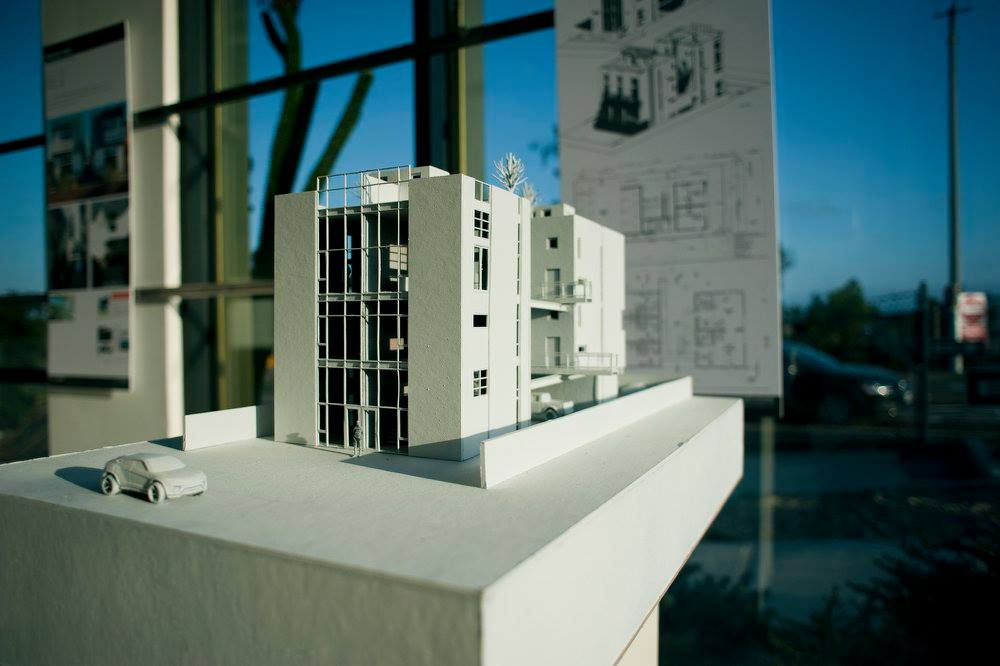 Physical Model of the NoHo10 Apartments