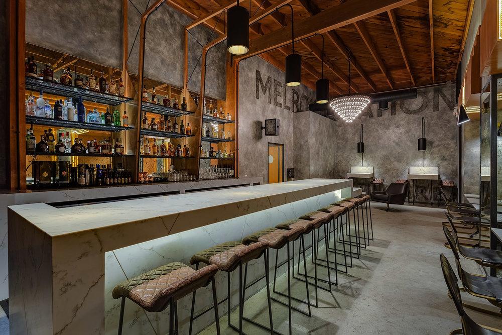 Melrose Station / Speakeasy Bar Designed by Archillusion Design