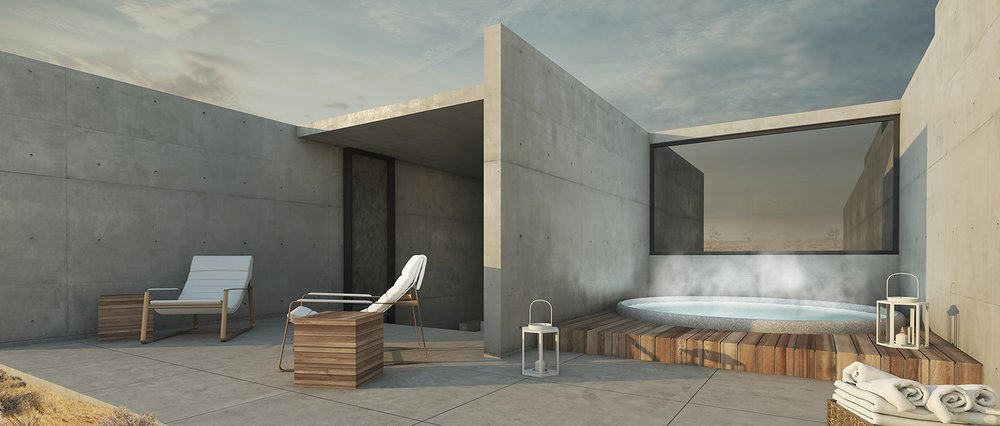 Sky Terrace and Private Outdoor Hot Tub