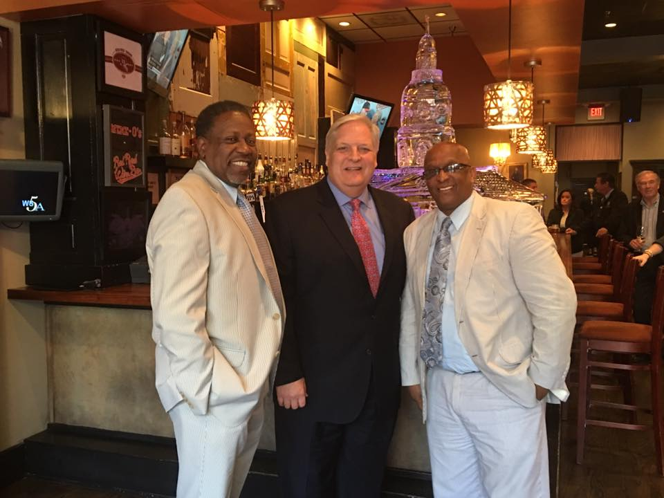 Sine Die Party 2016 with Baltimore City Council President Jack Young and his Aide Kenny Parker