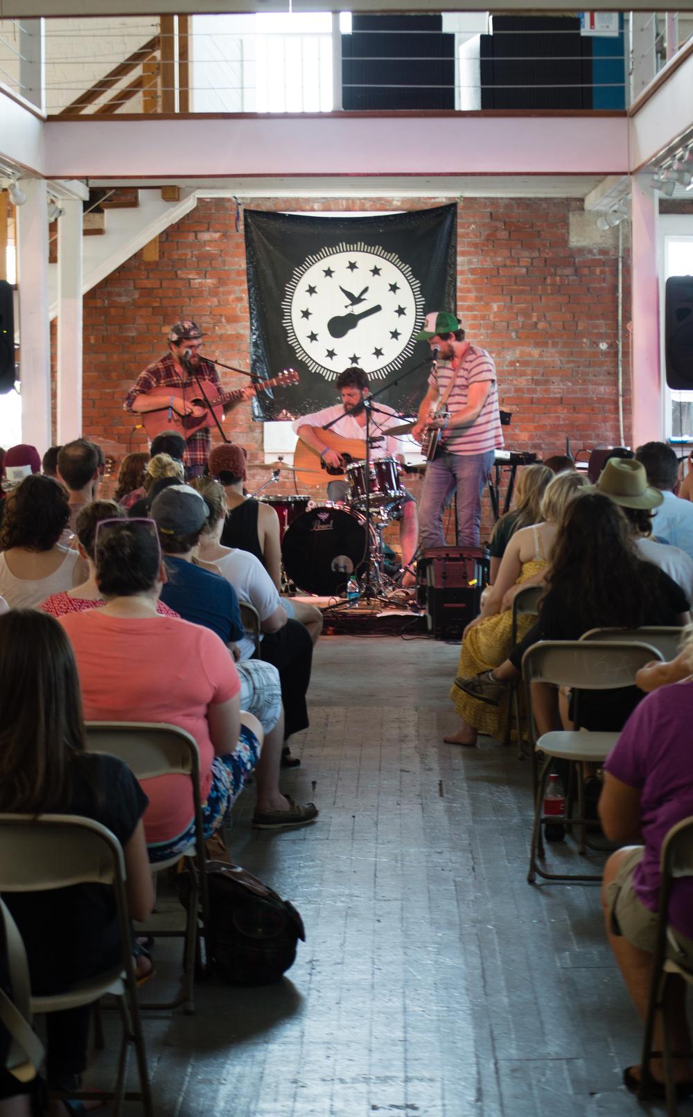 Bear's Den - 2014 Newport Folk Festival