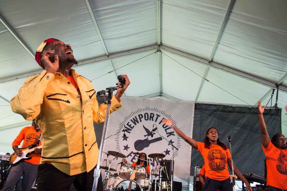Jimmy Cliff - 2014 Newport Folk Festival