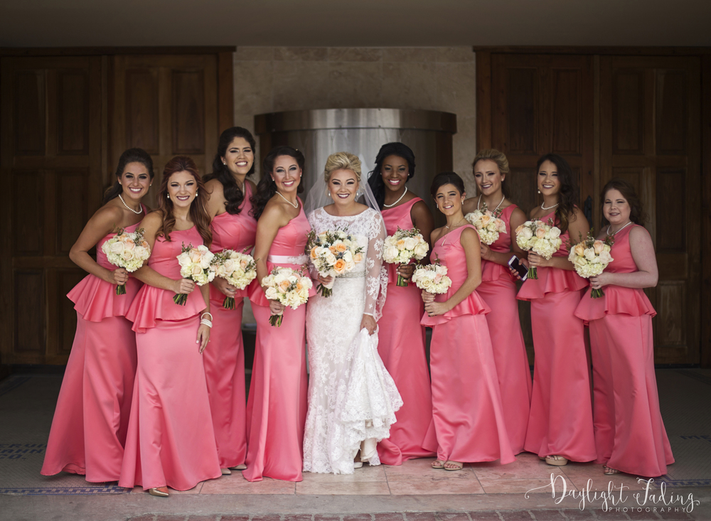 Bridal Party in Rayne, Louisiana - daylightfadingphotography.com