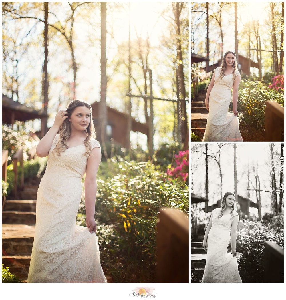 Bridal Portraits Creekwood Gardens Arcadia Ruston Louisiana