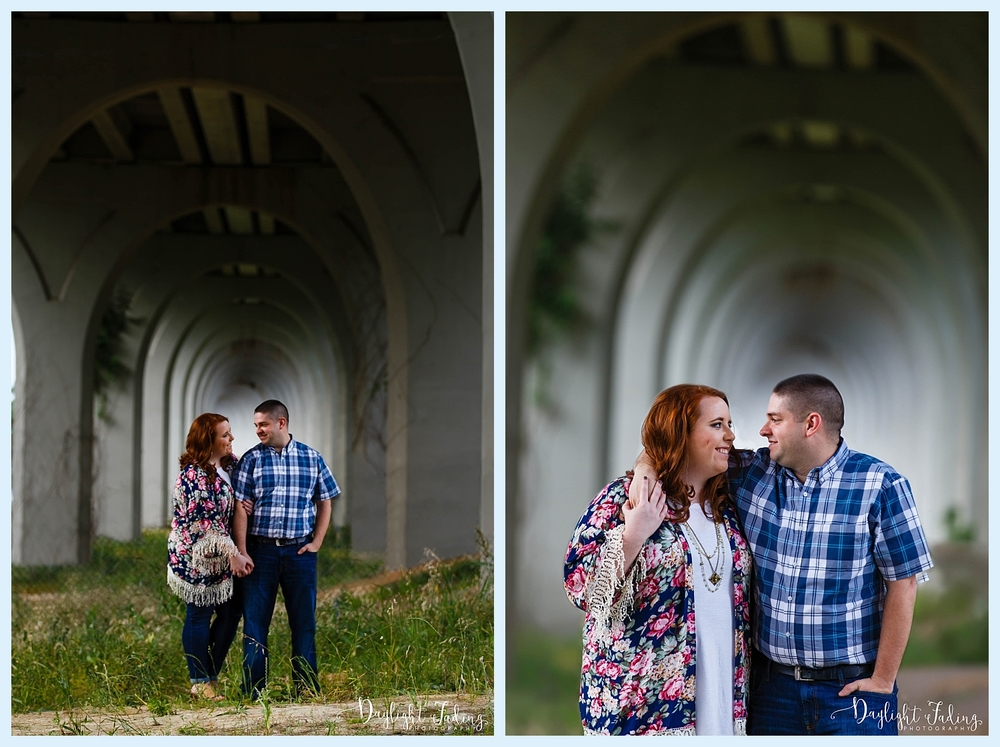 Dog Military Engagement Session Cross Lake Shreveport Louisiana
